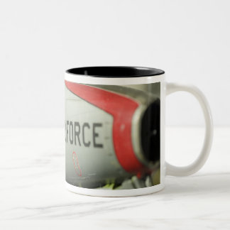 North America, USA, Model Show Two-Tone Coffee Mug