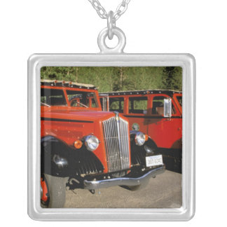 North America, USA, Montana. Classic 1934 Ford Silver Plated Necklace