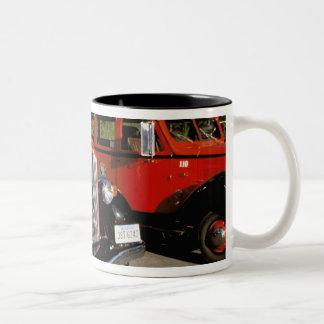 North America, USA, Montana. Classic 1934 Ford Two-Tone Coffee Mug