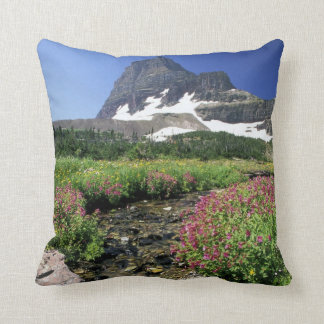 North America, USA, Montana, Glacier National 3 Throw Pillow