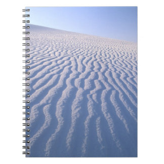 North America, USA, New Mexico, White Sand Dunes Notebook