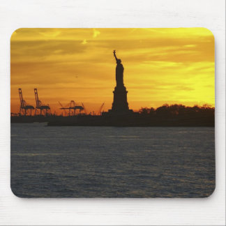 North America, USA, New York, New York City. 3 Mouse Mat