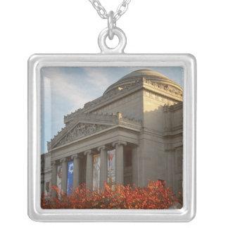 North America, USA, New York, New York City, 4 Square Pendant Necklace