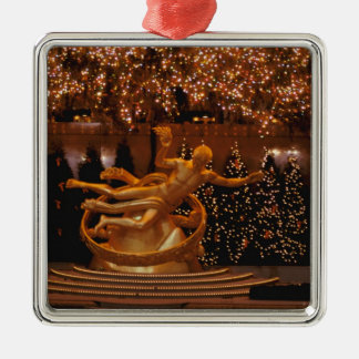 North America, USA, New York, New York City. 6 Christmas Ornament
