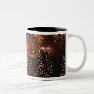 North America, USA, New York, New York City. 6 Two-Tone Mug