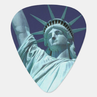North America, USA, New York, New York City. 7 Guitar Pick