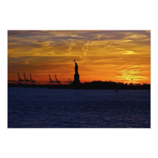 North America, USA, New York, New York City. 7 Photo Print