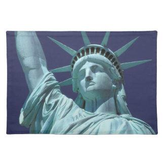 North America, USA, New York, New York City. 7 Place Mat