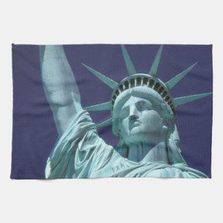 North America, USA, New York, New York City. 7 Tea Towel