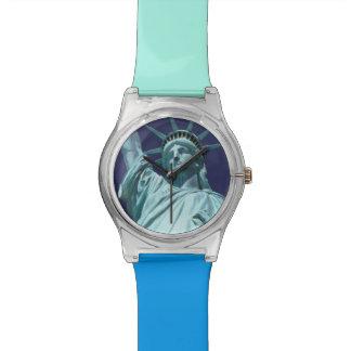 North America, USA, New York, New York City. 7 Wristwatch