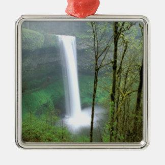 North America, USA, Oregon, Silver Falls State Christmas Ornament