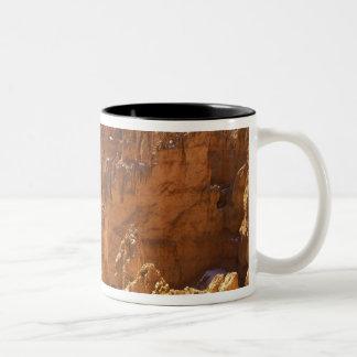 North America, USA, Utah, Bryce Canyon 2 Two-Tone Coffee Mug