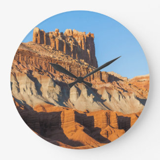 North America, USA, Utah, Torrey, Capitol Reef 3 Wall Clocks