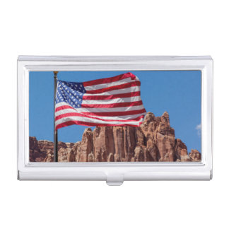 North America, USA, Utah, Torrey, Capitol Reef Business Card Case