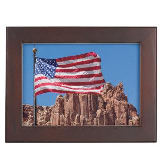North America, USA, Utah, Torrey, Capitol Reef Keepsake Box