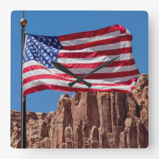 North America, USA, Utah, Torrey, Capitol Reef Square Wall Clock