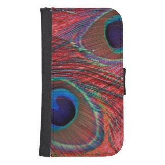 North America, USA, WA, Redmond, Peacock Samsung S4 Wallet Case