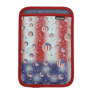 North America, USA, WA, Redmond, U.S. Flag iPad Mini Sleeve