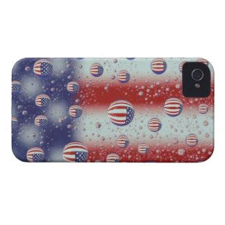 North America, USA, WA, Redmond, U.S. Flag iPhone 4 Case-Mate Cases