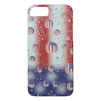 North America, USA, WA, Redmond, U.S. Flag iPhone 8/7 Case