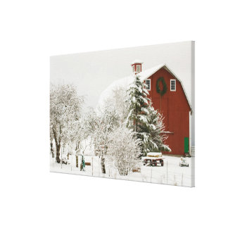 North America, USA, WA, Whidbey Island. Gallery Wrapped Canvas