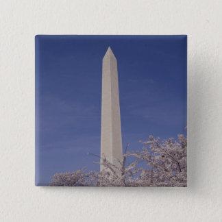 North America, USA, Washington D.C.. Washington 15 Cm Square Badge