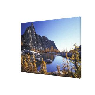 North America, USA, Washington, Enchantment Canvas Print