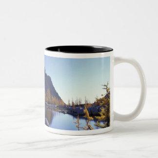 North America, USA, Washington, Enchantment Two-Tone Coffee Mug