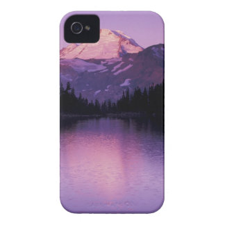 North America, USA, Washington, Mount Baker iPhone 4 Case-Mate Cases