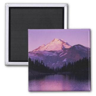 North America, USA, Washington, Mount Baker Magnet