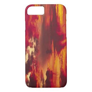 North America, USA, Washington, Seattle. Sunrise iPhone 7 Case