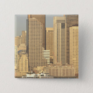 North America, USA, Washington State, Seattle. 15 Cm Square Badge