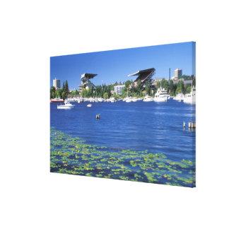 North America, USA, Washington State, Seattle, Canvas Print
