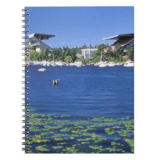 North America, USA, Washington State, Seattle, Notebook
