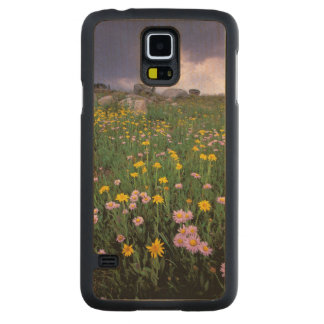 North America, USA, Wyoming, Yellowstone 2 Carved Maple Galaxy S5 Case