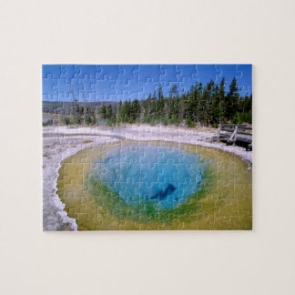 North America, USA, Wyoming, Yellowstone 2 Jigsaw Puzzle