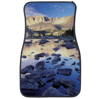 North America, USA, Wyoming, Yellowstone 3 Car Mat