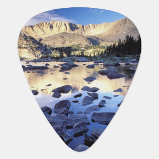 North America, USA, Wyoming, Yellowstone 3 Guitar Pick