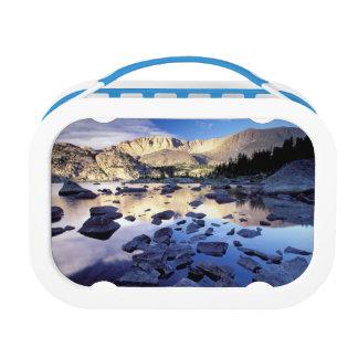 North America, USA, Wyoming, Yellowstone 3 Lunch Box