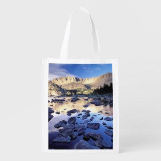 North America, USA, Wyoming, Yellowstone 3 Reusable Grocery Bag