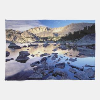 North America, USA, Wyoming, Yellowstone 3 Tea Towel