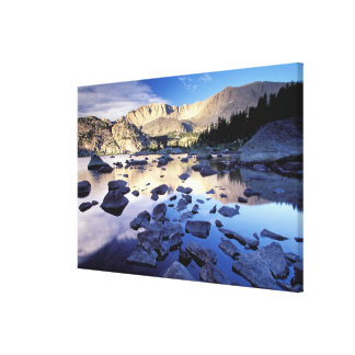 North America, USA, Wyoming, Yellowstone Canvas Prints