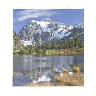 North America, Washington, Cascades. Mt. Shuksan Notepad