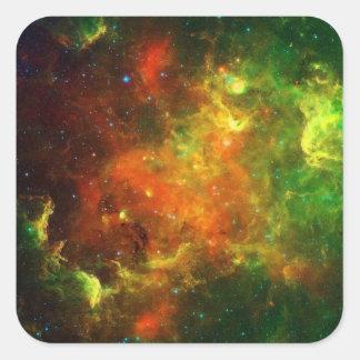 North American and Pelican Nebulae Square Sticker