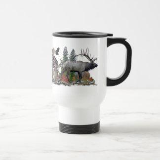 north American big game Stainless Steel Travel Mug