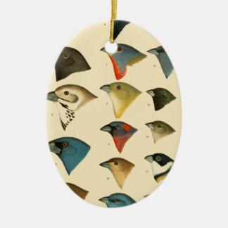 North American Birds Christmas Tree Ornaments