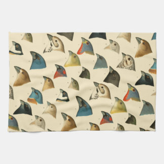 North American Birds Tea Towel