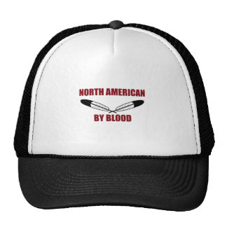 North American By Blood Mesh Hats