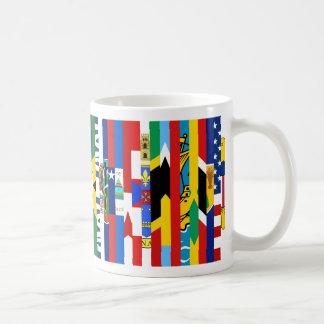 North American Flags Mug