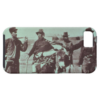 North American gold diggers, c.1849 (b/w photo) iPhone 5 Covers